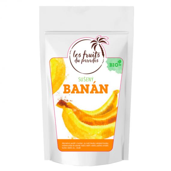 Banán sušený celý BIO 500 g Les Fruits du Paradis