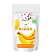 Banán sušený mini BIO 10 kg Les Fruits du Paradis