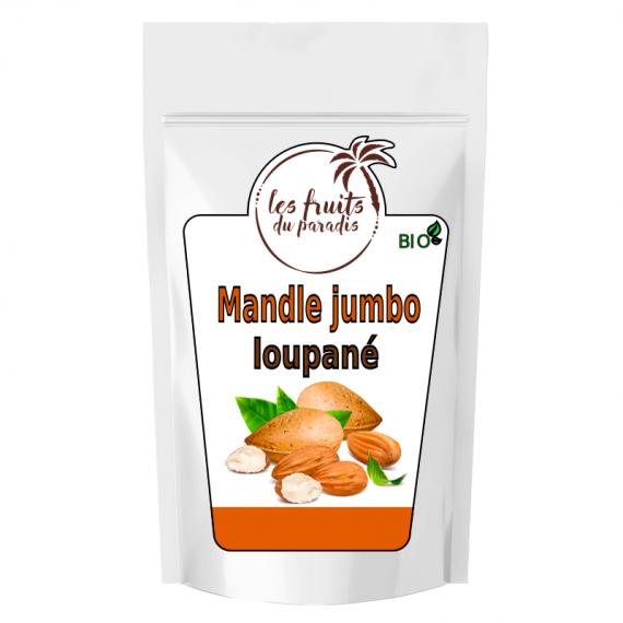 Mandle Jumbo BIO 25 kg Les Fruits du Paradis