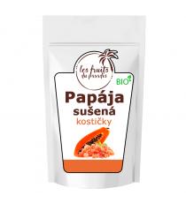 Papája sušená (kostičky) BIO 1 kg Les Fruits du Paradis