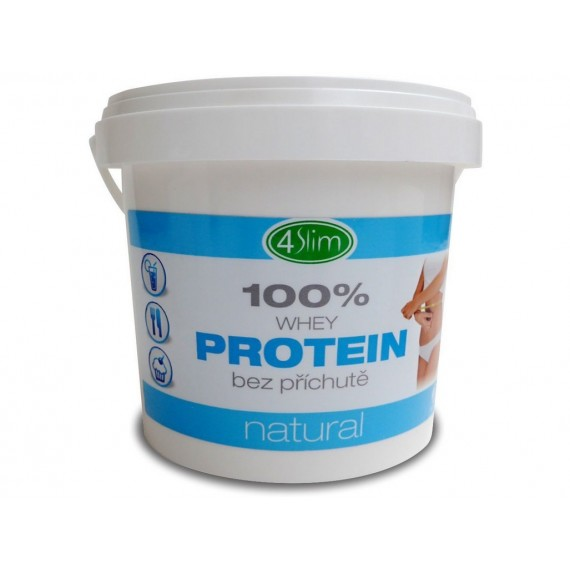 100% Whey Protein natural 500 g 4Slim