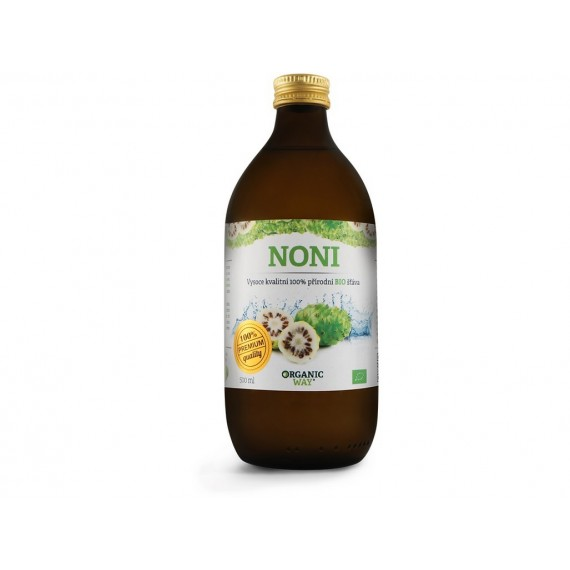 Noni BIO 100% šťáva premium quality 500ml Organic way