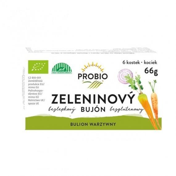 Bujón zeleninový - kostky BIO 6 x 0,5 l PROBIO