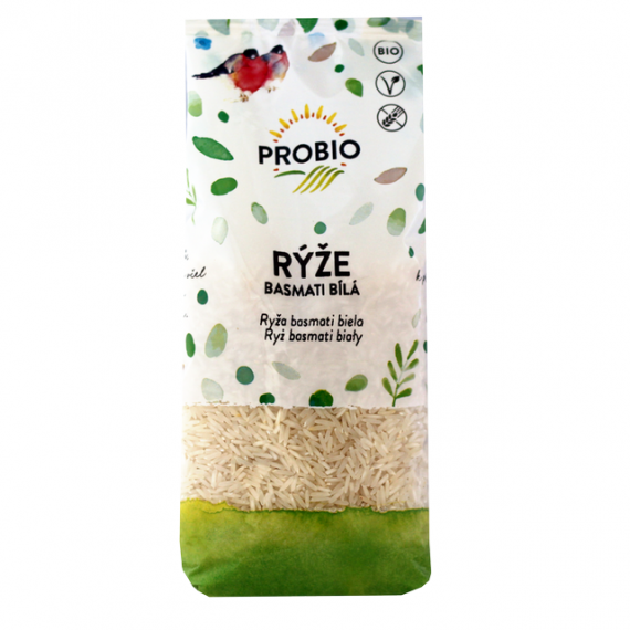 Rýže basmati bílá BIO 500 g PROBIO