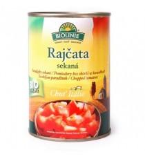Rajčata sekaná sterilovaná BIO 400 g BIOLINIE