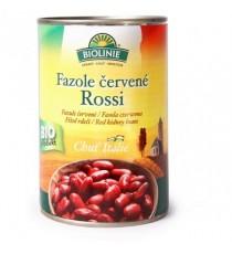 Fazole červené Rossi sterilované BIO 400 g BIOLINIE