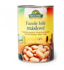 Fazole bílé máslové sterilované BIO 400 g BIOLINIE
