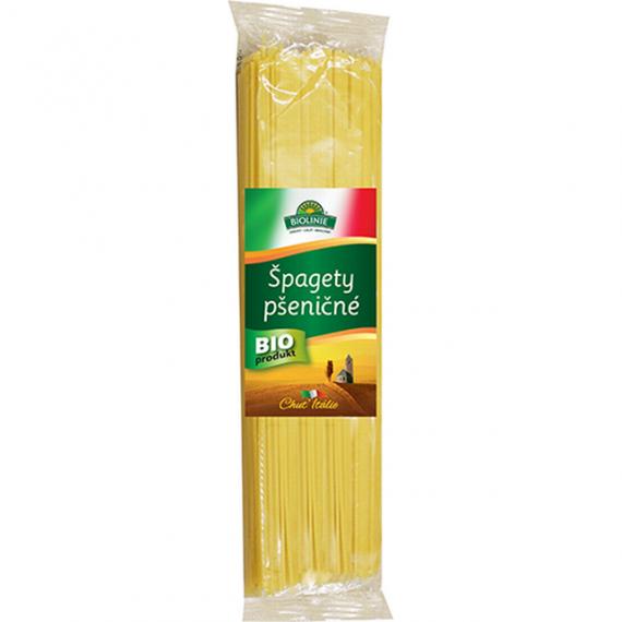 Špagety pšeničné bílé BIO 500 g BIOLINIE