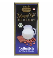 Čokoláda mléčná BIO 100 g LIEBHART´S