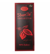Čokoláda hořká 99% kakaa BIO 80 g LIEBHART´S