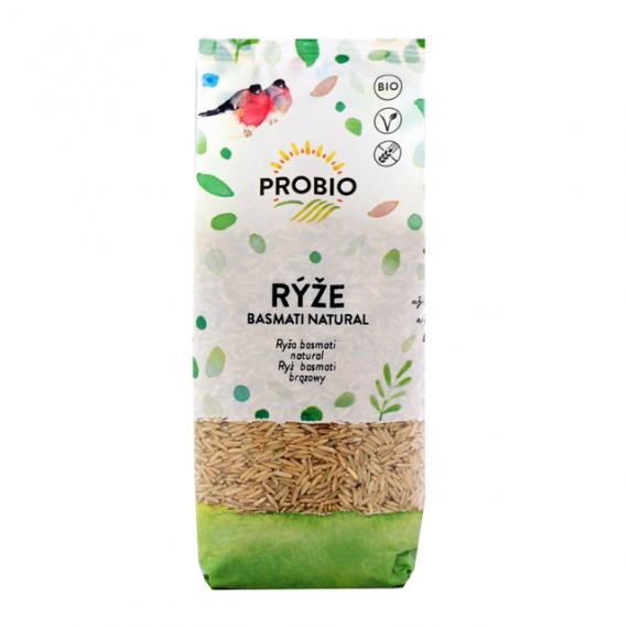 Rýže basmati natural BIO 500 g PROBIO