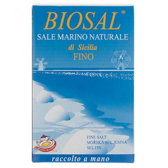 Mořská sůl jemná BIO 1 kg Zangrando