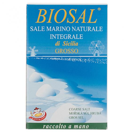 Mořská sůl hrubá BIO 1 kg Zangrando