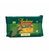 Nudle kukuřičné široké dlouhé (Tagliatelle) BIO 250 g LE ASOLANE