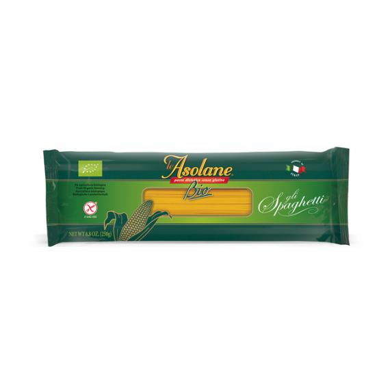 Špagety kukuřičné BIO 250 g LE ASOLANE