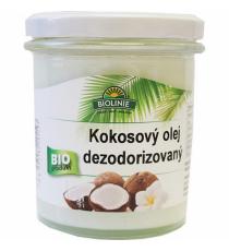 Kokosový olej dezodorizovaný BIO 240 g BIOLINIE