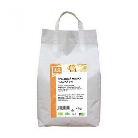 Špaldová mouka bílá hladká BIO 4 kg BIOHARMONIE
