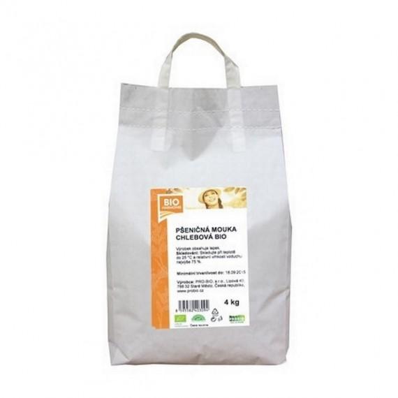 Pšeničná mouka chlebová BIO 4 kg BIOHARMONIE