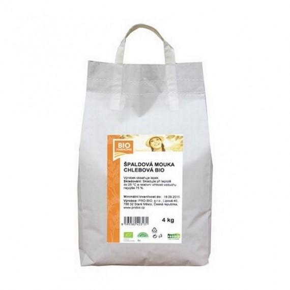Špaldová mouka chlebová BIO 4 kg BIOHARMONIE