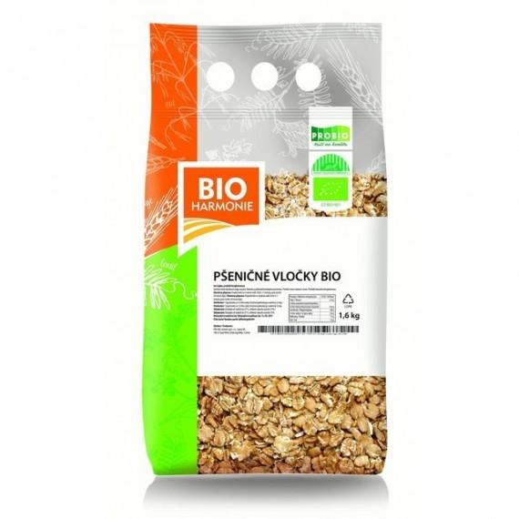 Pšeničné vločky BIO 1,6 kg BIOHARMONIE