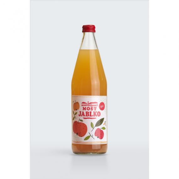 Jablečný mošt BIO 750 ml MOŠTÁRNA HOSTĚTÍN