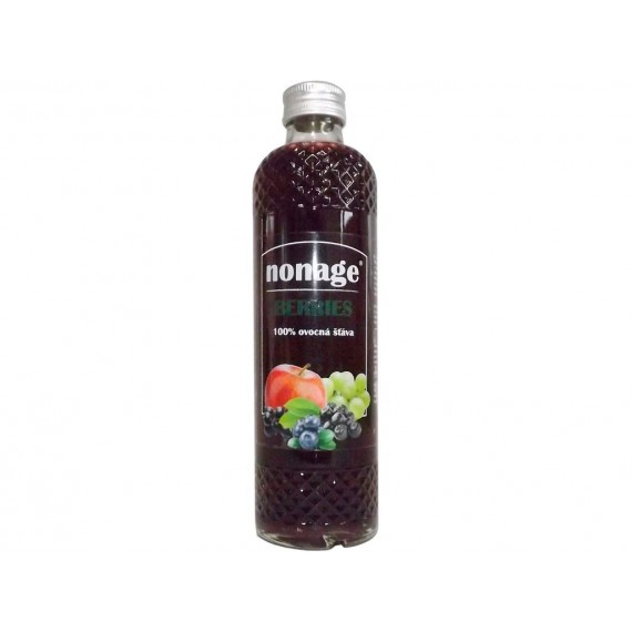 Ovocná 100% šťáva berries juice 330ml Nonage
