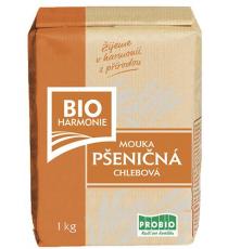Pšeničná mouka chlebová BIO 1 kg BIOHARMONIE - AKCE