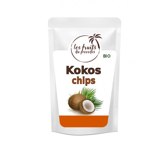 Kokos chips BIO 150 g Les Fruits du Paradis