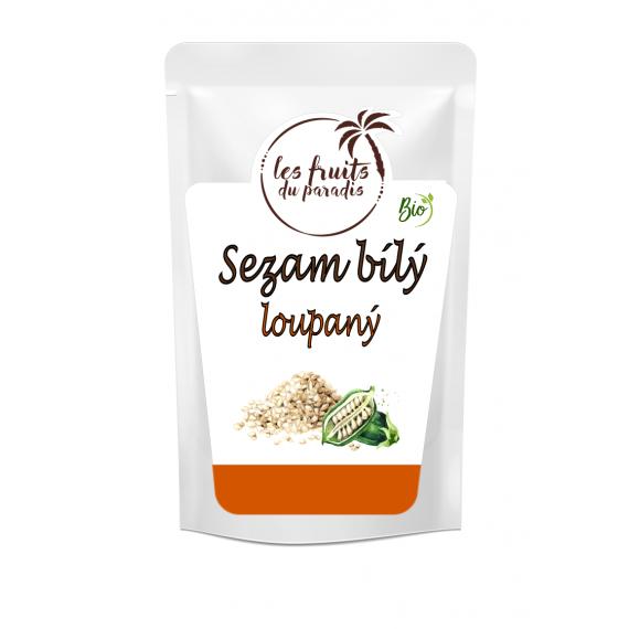 Sezamové semínko (loupané) BIO 500 g Les Fruits du Paradis
