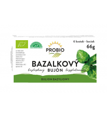 Bujón bazalkový - kostky BIO 6 x 0,5 l PROBIO