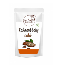 Kakaové boby celé 1 kg BIO RAW Les Fruits du Paradis