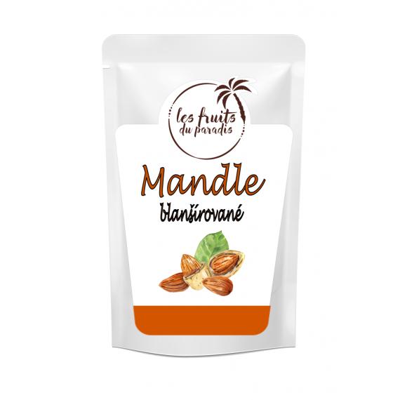 Mandle blanšírované 1 kg Les Fruits du Paradis