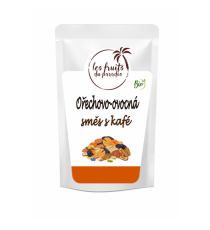 Směs ořechy a kafe BIO 500 g Les Fruits du Paradis