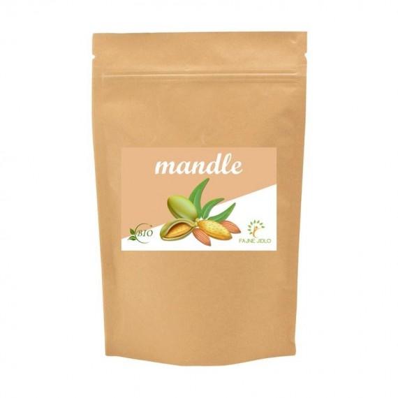 Mandle natural BIO 25 kg FAJNE JIDLO