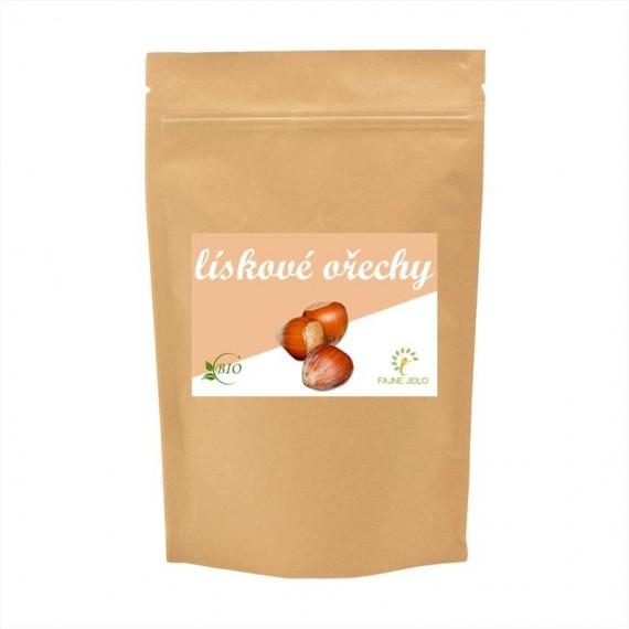 Lískové ořechy celé BIO 1 kg FAJNE JIDLO