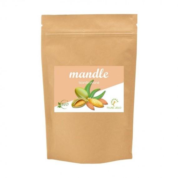 Mandle blanšírované BIO 150 g FAJNE JIDLO