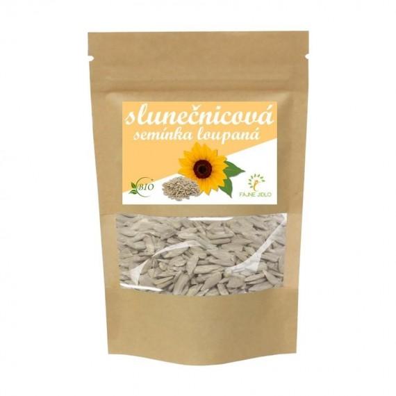 Slunečnicová semínka loupaná BIO 1 kg FAJNE JIDLO