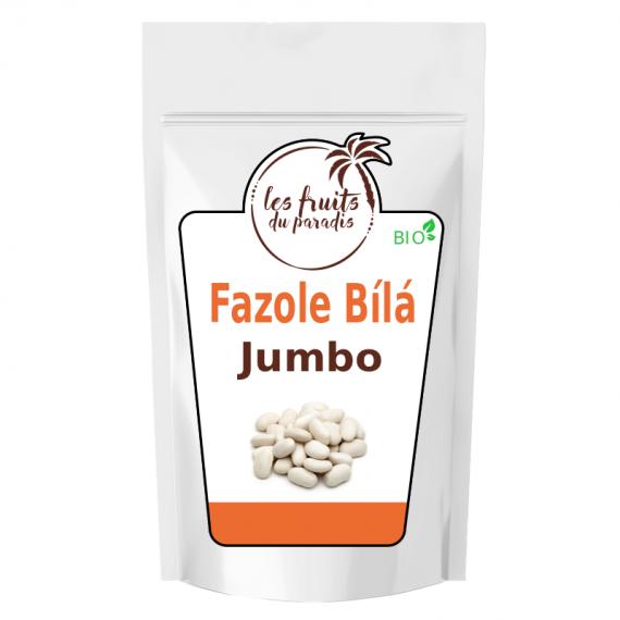 Bílá fazole Jumbo Bio Čína 3 kg Les Fruits du Paradis