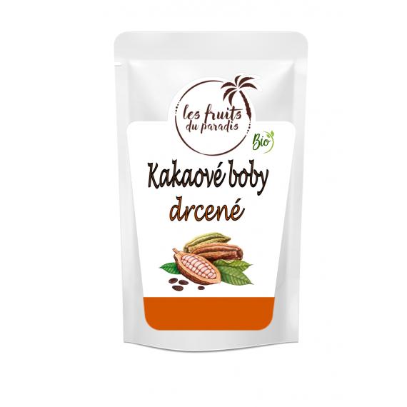 Kakaové boby drcené BIO 500 g Les Fruits du Paradis