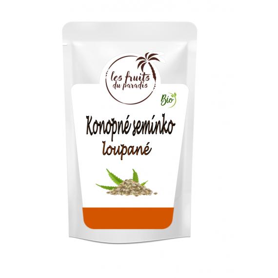 Konopné semínko loupané BIO 3 kg Les Fruits du Paradis