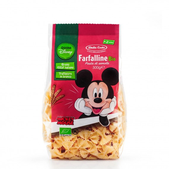 BIO Disney Mickey Farfalline 300 g Dalla Costa