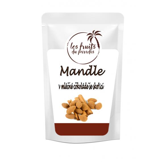 Mandle v čokoládě a skořici 200g Les Fruits du Paradis
