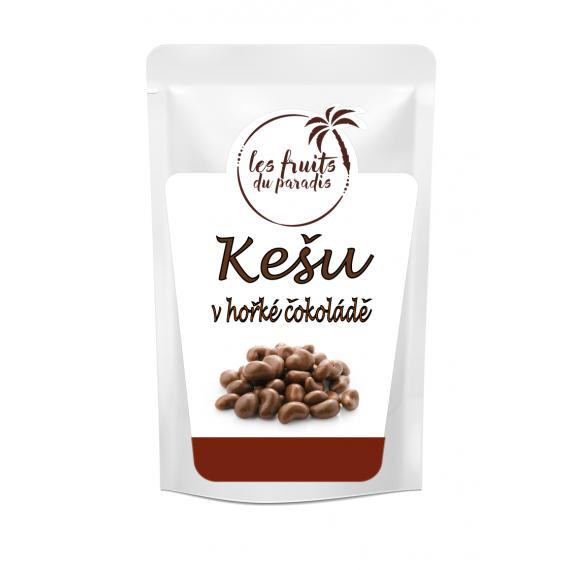 Kešu ořechy v hořké čokoládě 250g Les Fruits du Paradis