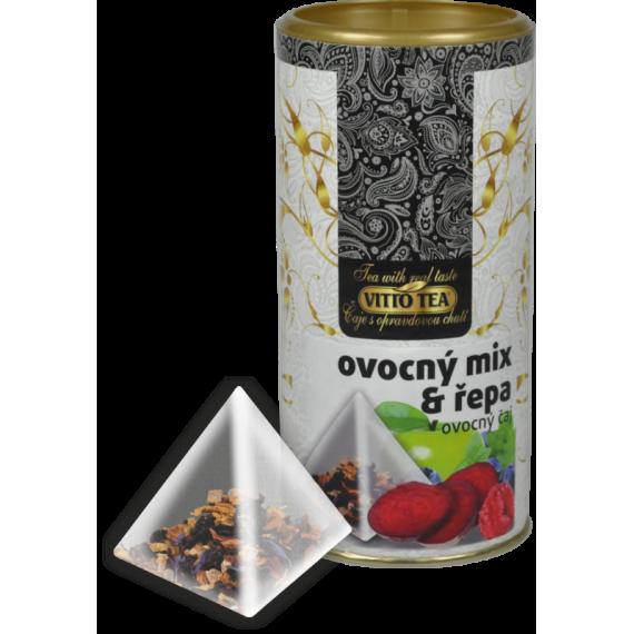 TUBUS Ovocný mix a červená řepa 30 g Vitto Tea