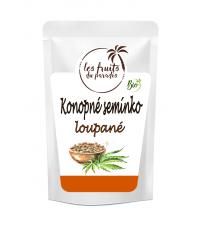 Konopné semínko loupané BIO 500 g Les Fruits du Paradis