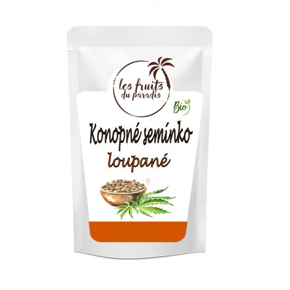Konopné semínko loupané BIO 200 g Les Fruits du Paradis