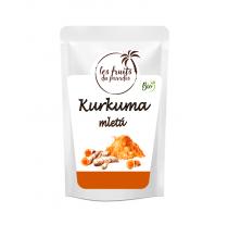 Kurkuma mletá BIO 500 g Les Fruits du Paradis