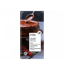 Čokoláda na vaření hořká BIO 200 g VIVANI