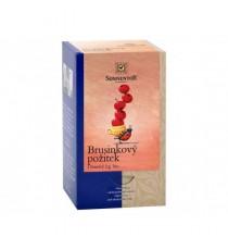 Brusinkový požitek BIO čaj porc. dvoukomorový 50,4 g SONNENTOR