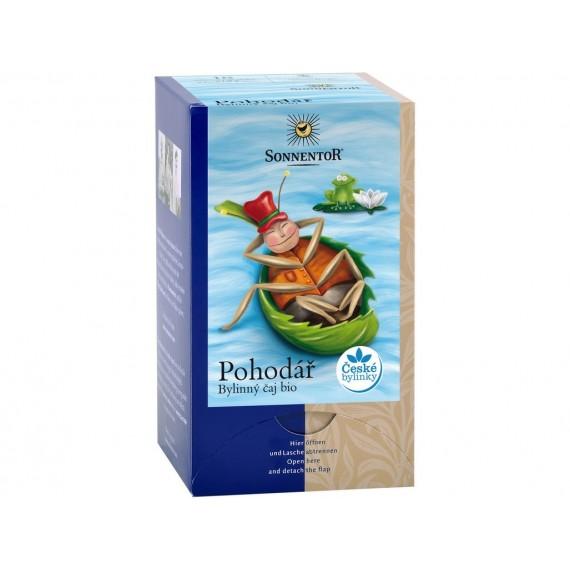 Pohodář bylinný čaj BIO porc. dvoukomorový 27 g SONNENTOR